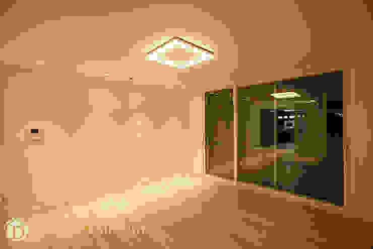 면목동 두원APT 거실 모던스타일 거실 by Design Daroom 디자인다룸 모던