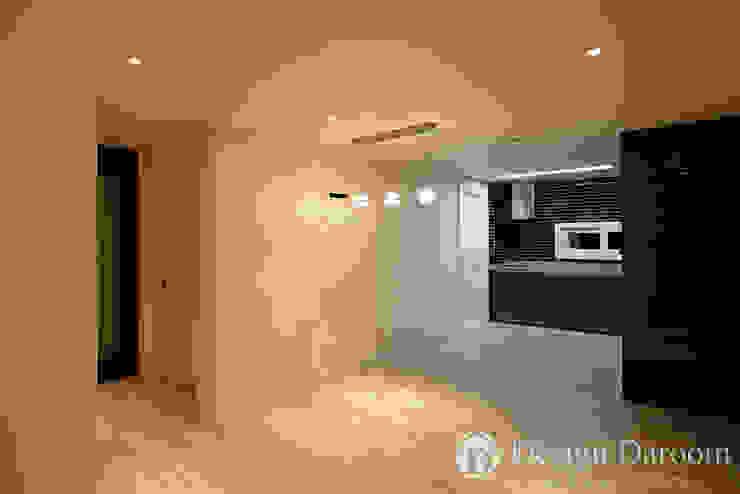 면목동 두원APT 주방 모던스타일 주방 by Design Daroom 디자인다룸 모던