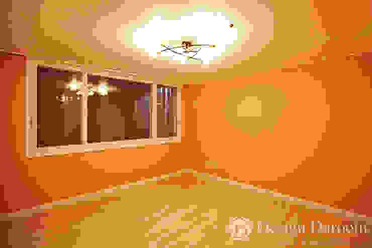 면목동 두원APT 안방 모던스타일 침실 by Design Daroom 디자인다룸 모던