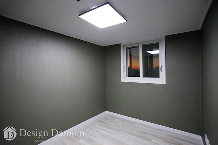 면목동 두원APT 드레스룸 모던스타일 침실 by Design Daroom 디자인다룸 모던