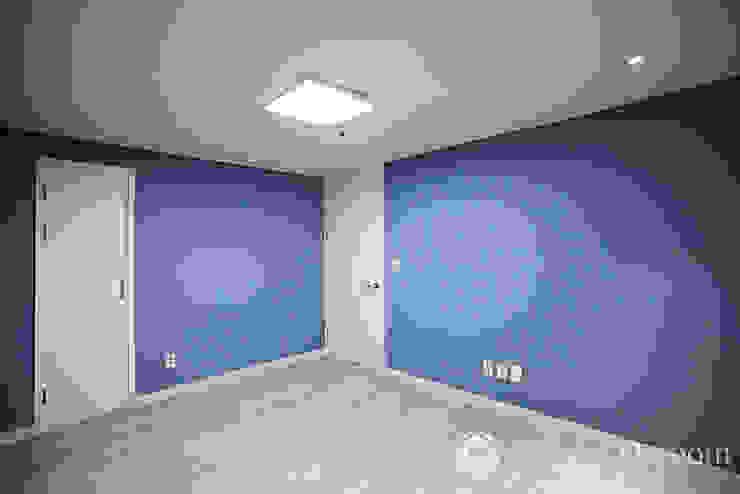 면목동 두원APT 서재 모던스타일 침실 by Design Daroom 디자인다룸 모던