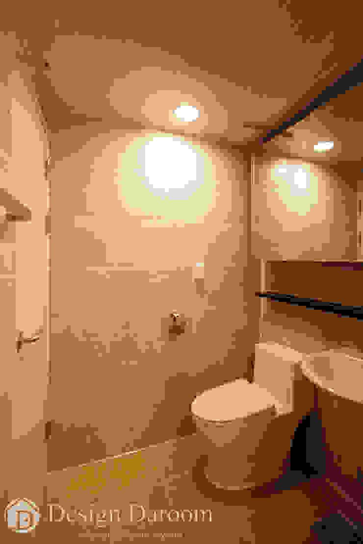 면목동 두원APT 거실 욕실 모던스타일 욕실 by Design Daroom 디자인다룸 모던
