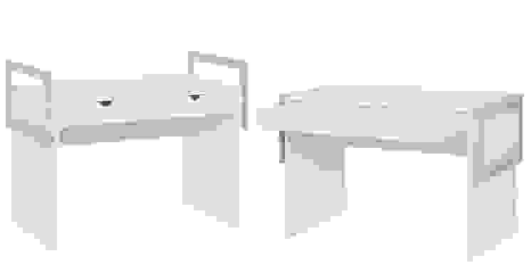 Schreibtisch von QMM TraumMoebel Modern Holz Holznachbildung