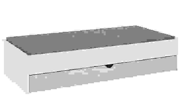 Gemütliche Einzelbett von QMM TraumMoebel Modern