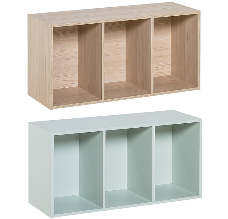 Regal liegend von QMM TraumMoebel Modern Holz Holznachbildung
