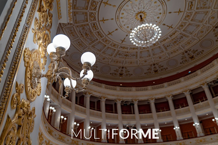 Galli Theater, Rimini Classic event venues by MULTIFORME® lighting Classic
