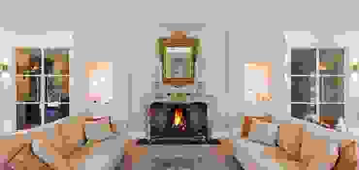 Ruang Keluarga Gaya Eklektik Oleh ÈMCÉ interior architecture Eklektik