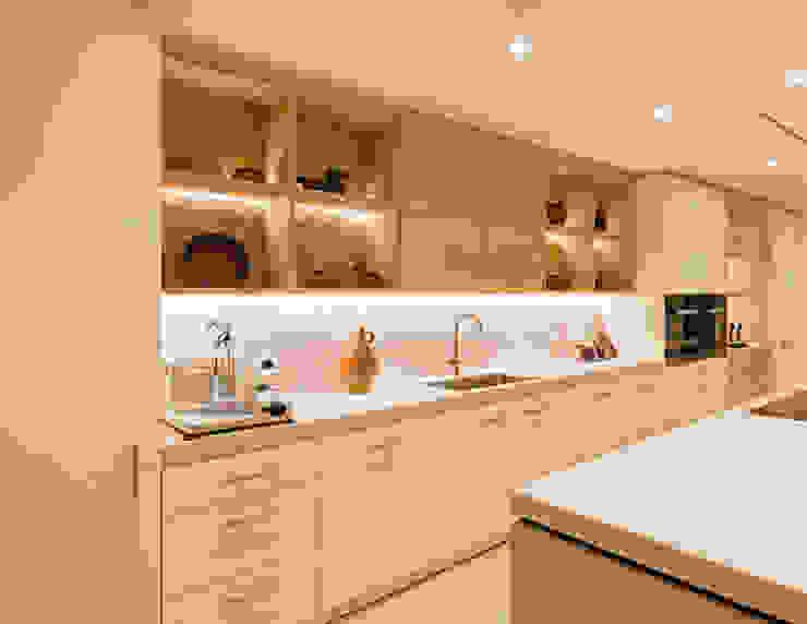 Dapur Modern Oleh ÈMCÉ interior architecture Modern Kayu Wood effect