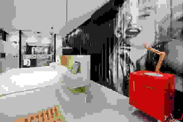 suite master Quartos modernos por Bruno Rubiano Moderno