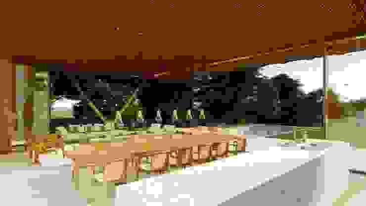 Modern houses by Bruno Rubiano Modern