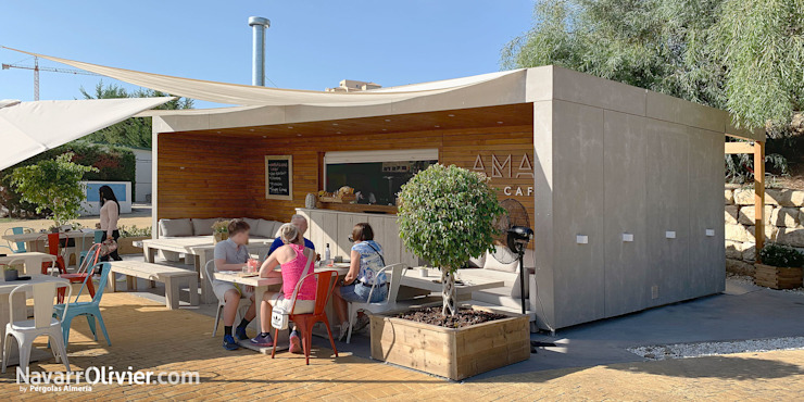 NavarrOlivier Gastronomie moderne Bois Effet bois