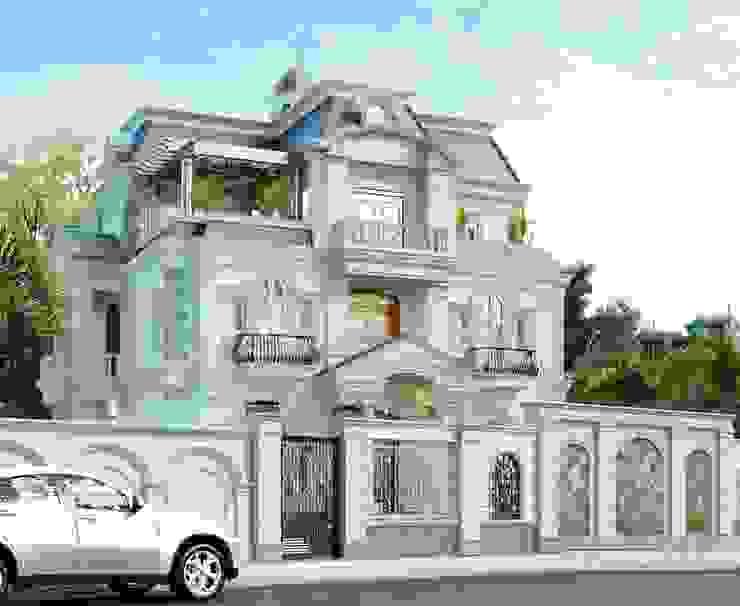 Mẫu nhà đẹp mắt nhất năm 2019 bởi Công ty TNHH kiến trúc xây dựng nội thất An Phú
