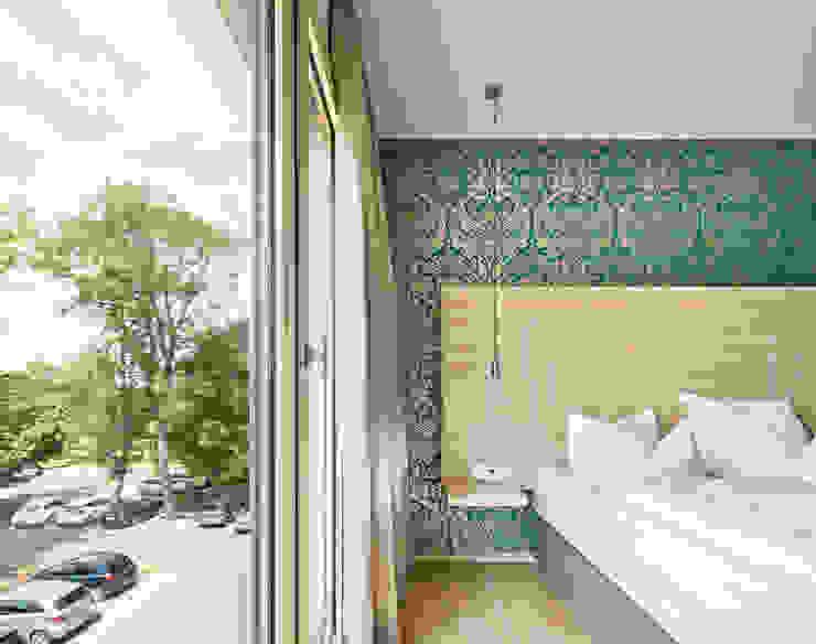 Zimmer Moderne Hotels von Steffen Wurster Freier Architekt Modern Holz Holznachbildung