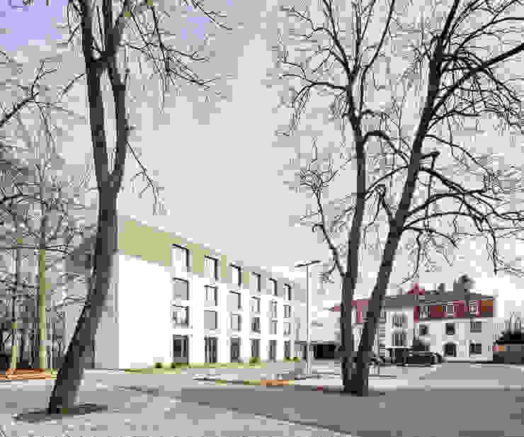 Hotel Anbau und Stammhaus Moderne Hotels von Steffen Wurster Freier Architekt Modern