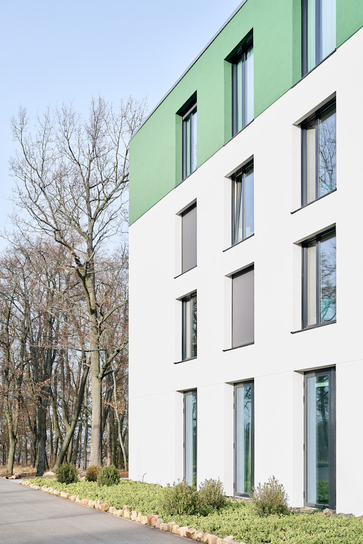 Detail Fassade Steffen Wurster Freier Architekt Moderne Hotels