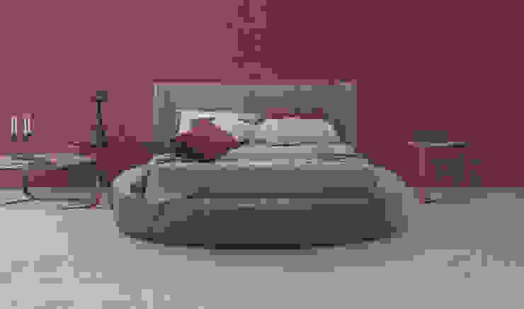 Rimar srl BedroomBeds & headboards Fake Leather Grey