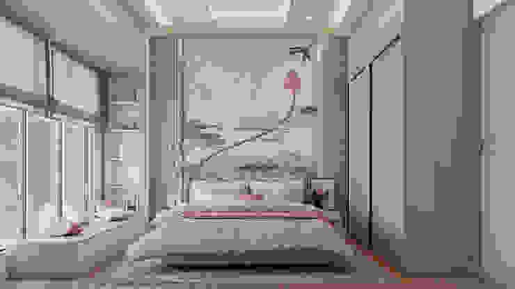 SNN Clermont Hebbal Bangalore De Panache Small bedroom Tiles Beige
