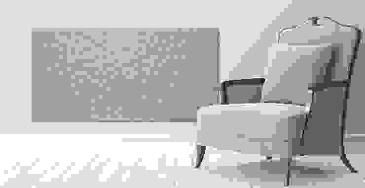 Infrarot Heizpanel Wabe Moderne Wohnzimmer von RF Design GmbH Modern
