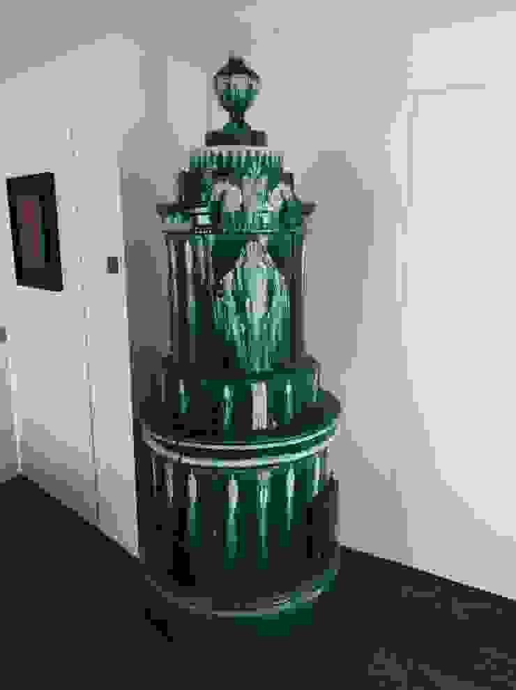 stufa antica in ceramica Dallago Stufe CasaAccessori & Decorazioni Ceramica Verde