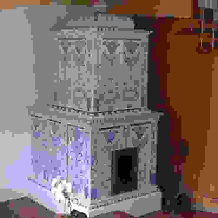 stufa antica in ceramica Dallago Stufe CasaAccessori & Decorazioni Ceramica Bianco