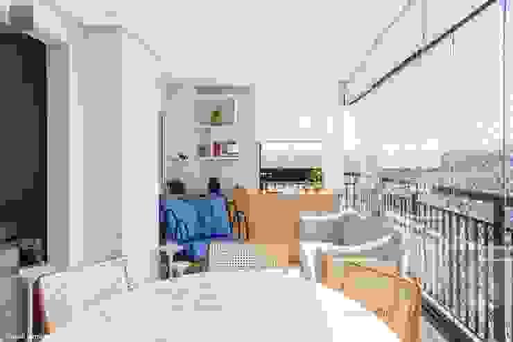 Varanda | Apto Martinho de Campos | 92 m2 Madi Arquitetura e Design Varandas