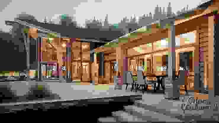 de Компания архитекторов Латышевых 'Мечты сбываются' Rural