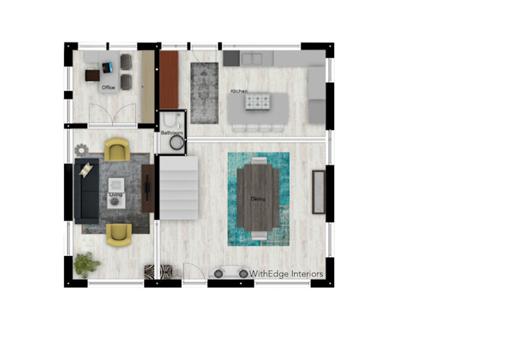Floor Plans by WithEdge Interiors