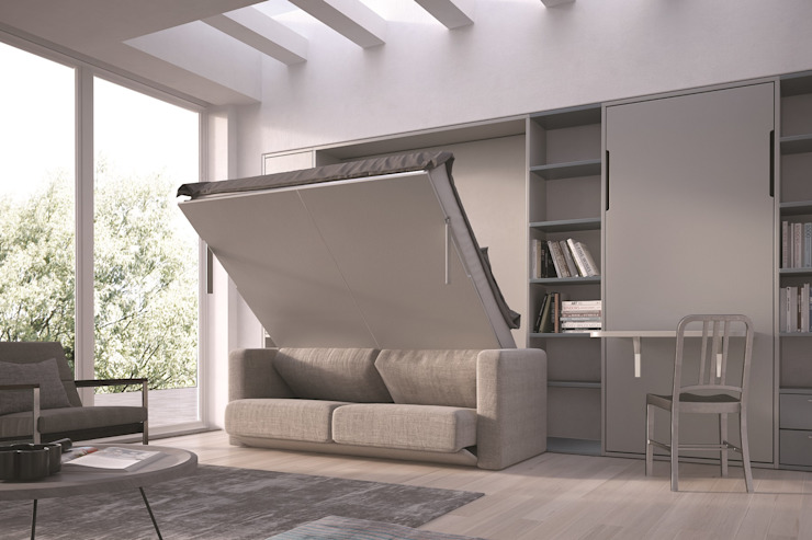 SPINELLI di Drs Industria Mobili Srl Living roomShelves Engineered Wood White