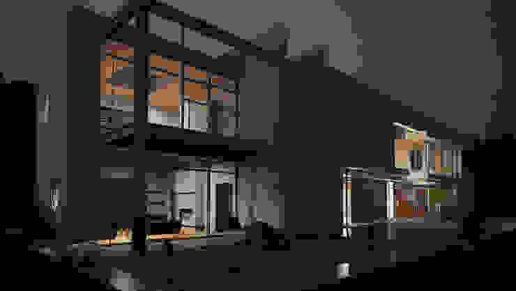 CLARE studio di architettura Rumah keluarga besar