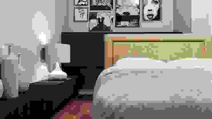 CLARE studio di architettura Kamar tidur kecil