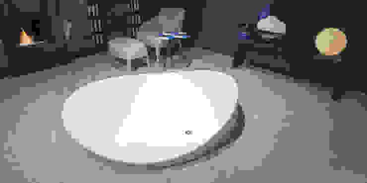 """Vasca da Bagno Di Design by AntonioLupi modello """"Dune"""" Miele Giuseppe e Figli S.p.a. BagnoVasche & Docce Bianco"""