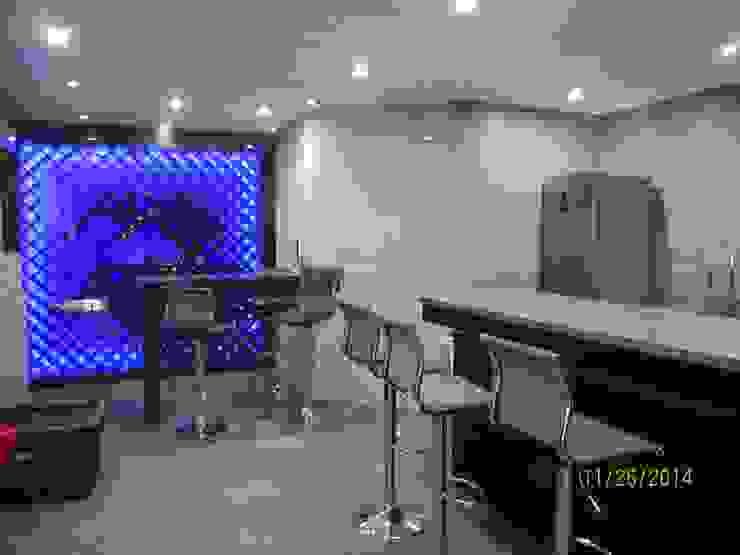 Cava y bar Cavas minimalistas de Forma Arquitectónica SA de CV Minimalista