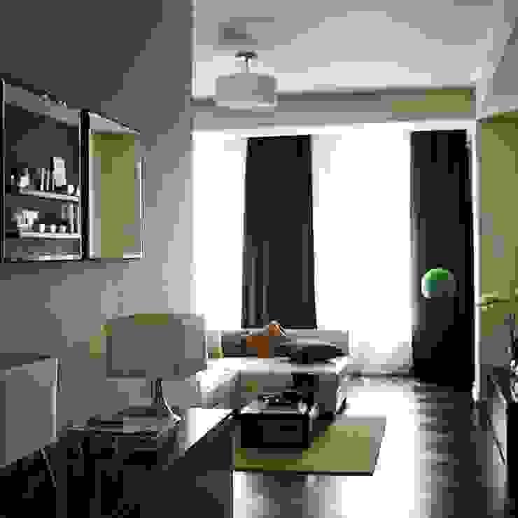 Квартира 68м.кв. г.Москва Коридор, прихожая и лестница в стиле минимализм от Orel Andre Минимализм
