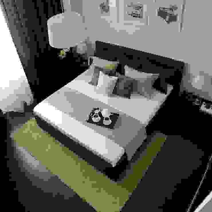Квартира 68м.кв. г.Москва Спальня в стиле минимализм от Orel Andre Минимализм