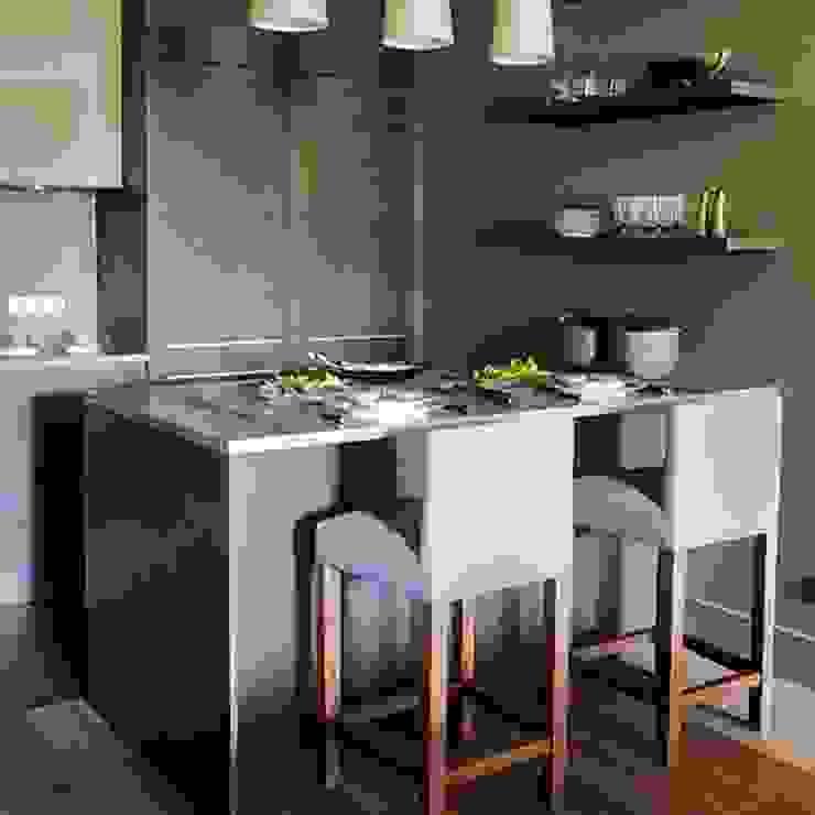 Квартира 130м.кв. г.Москва Кухня в стиле модерн от Orel Andre Модерн