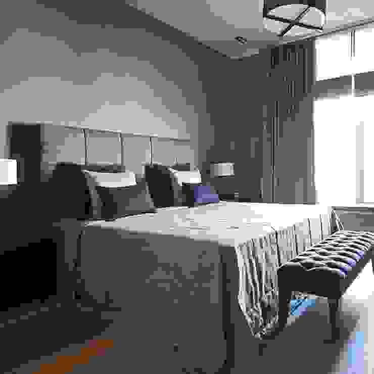 Квартира 130м.кв. г.Москва Спальня в стиле модерн от Orel Andre Модерн