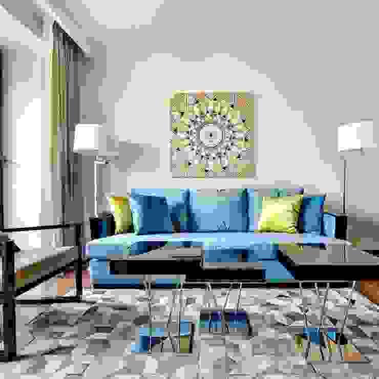 Phòng khách phong cách chiết trung bởi Orel Andre Chiết trung
