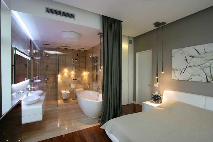 Квартира 88м.кв. г.Таллин Ванная комната в скандинавском стиле от Orel Andre Скандинавский