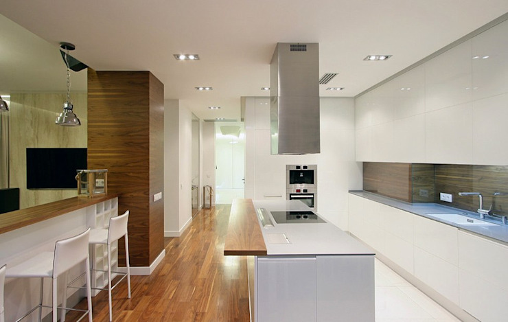 Квартира 88м.кв. г.Таллин Кухня в скандинавском стиле от Orel Andre Скандинавский
