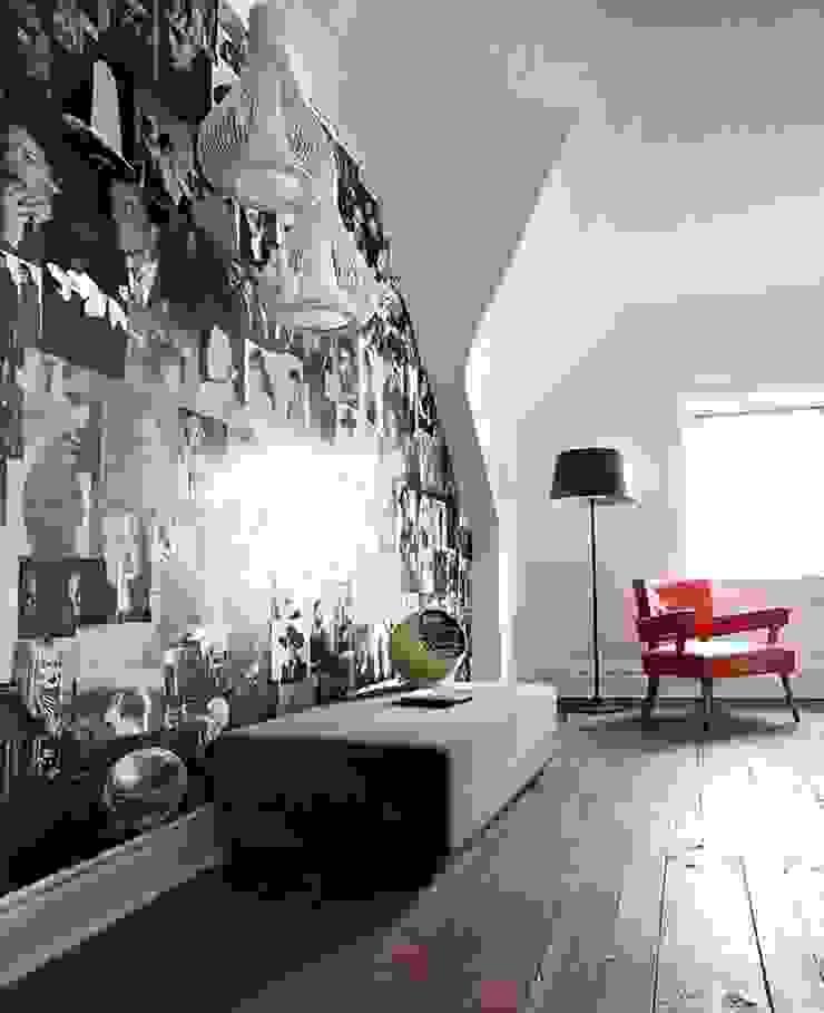 Квартира 68м.кв. г.Хельсинки Рабочий кабинет в скандинавском стиле от Orel Andre Скандинавский