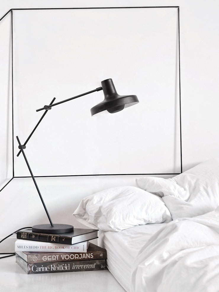 Designort Living roomLighting Metal Black