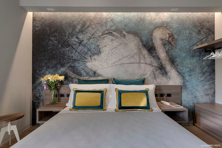 Terre Rosse Filippo Foti Foto Hotel moderni Legno Bianco