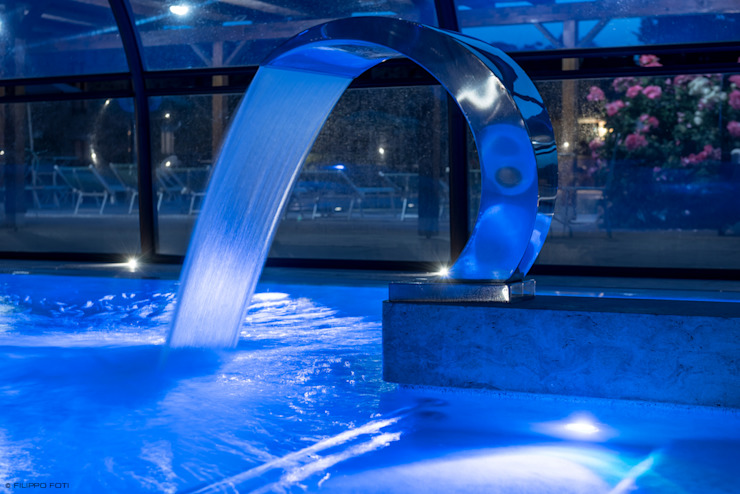 Antica Fonte Filippo Foti Foto Hotel moderni Vetro Blu