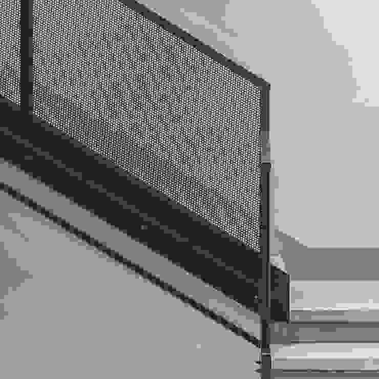 MODO Architettura Escaleras Hierro/Acero Gris