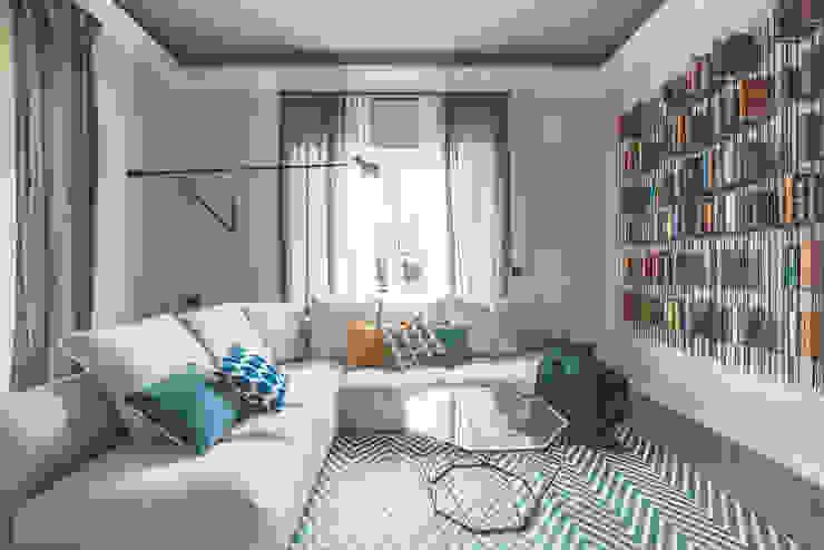 MODO Architettura Livings de estilo moderno