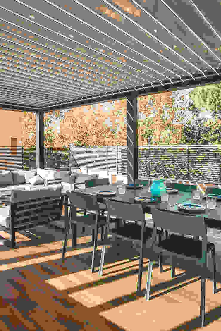 MODO Architettura Balcones y terrazas modernos