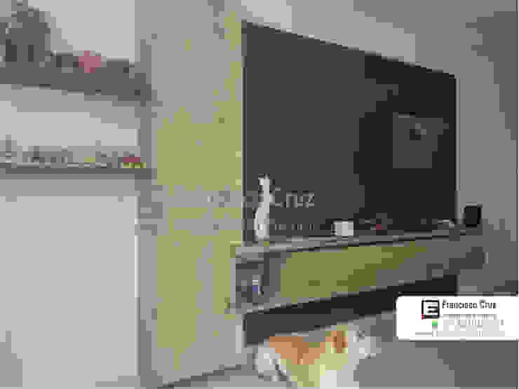 Mueble con biblioteca de Francisco Cruz Arquitectura Interior Minimalista