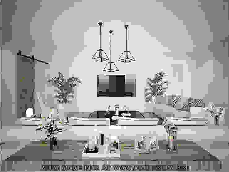 Living Room Scandinavian style living room by Singapore Carpentry Interior Design Pte Ltd Scandinavian Engineered Wood Transparent