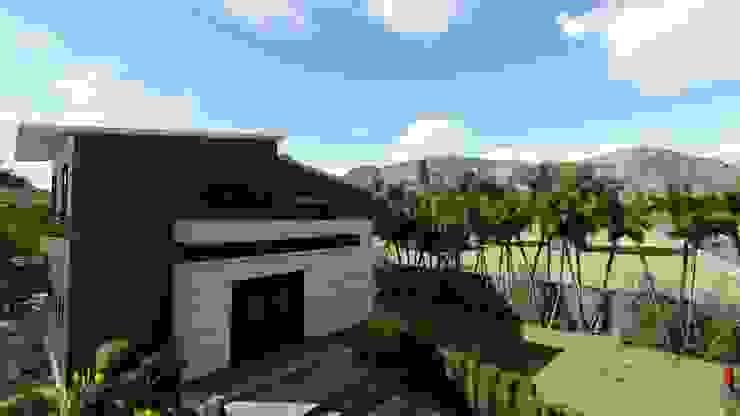 Modern Mimariyle Hafif Çelik Yapı Çalışmamız PRAMO PREFABRİCATED & STEEL Kırma çatı Demir/Çelik Bej