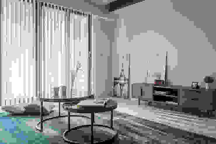 客廳 根據 台灣柏林室內設計 北歐風